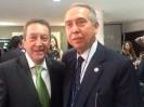 Salvador Ortega, Ombudsman Empresarial, con ex presidentes latinoamericanos